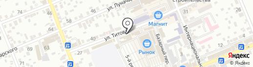 Ремонтная мастерская на карте Ессентуков