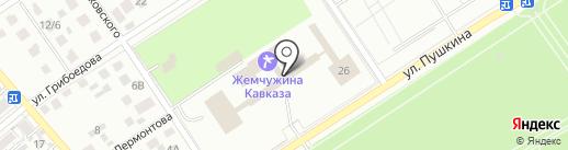 Банкомат, Сбербанк России на карте Ессентуков