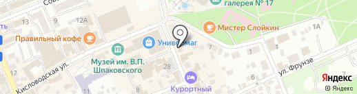 Цифроград на карте Ессентуков