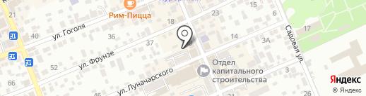 Орбис на карте Ессентуков