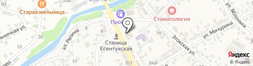 Техника на карте Ессентукской