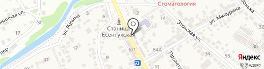 Мария на карте Ессентукской