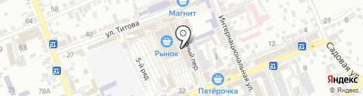 Лаборатория ветсанэкспертизы №1 на карте Ессентуков