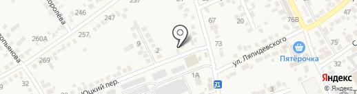 Автотест на карте Ессентукской