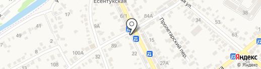 Банкомат, Сбербанк, ПАО на карте Ессентукской