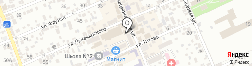 Ортопедический салон на карте Ессентуков