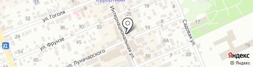 Нотариус Валенцукевич Н.Н. на карте Ессентуков