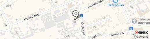 Столяр на карте Ессентукской