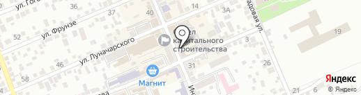 Ретро салон на карте Ессентуков
