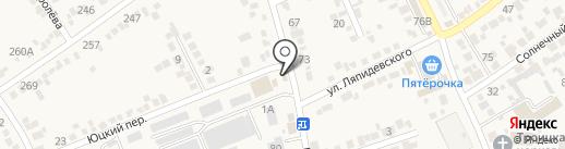 Пекарня на карте Ессентукской