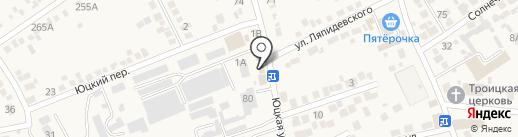 Аленка на карте Ессентукской