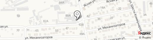Магазин стройматериалов и хозтоваров на карте Ессентукской