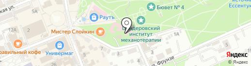Сувениры Кавказа на карте Ессентуков