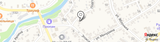 Стоматологическая поликлиника на карте Ессентукской