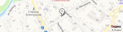 Магазин ритуальных принадлежностей на карте Ессентукской