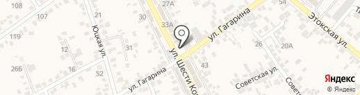 Георгий на карте Ессентукской