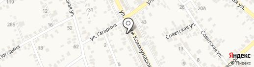 Гвипс на карте Ессентукской