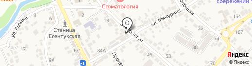 Магазин №24 на карте Ессентукской