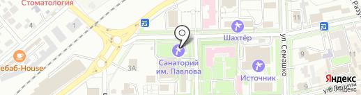 Ремонтно-строительное предприятие курортного управления на карте Ессентуков