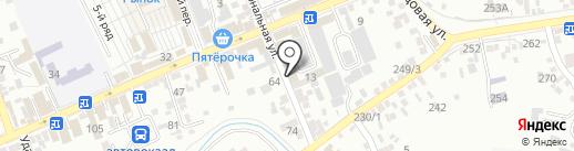 Sunhotel на карте Ессентуков