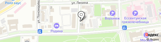 Почтовое отделение №24 на карте Ессентуков