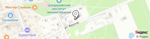 Отдел Управления ФСБ РФ по Ставропольскому краю в г. Ессентуки на карте Ессентуков