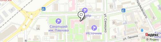 Клиника НИИ курортологии на карте Ессентуков