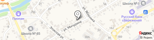 Жорж на карте Ессентукской