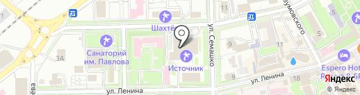 Оптика на Володарского на карте Ессентуков