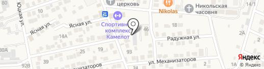 Дорремстрой на карте Ессентукской