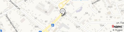 Nikas-Plazа на карте Ессентукской