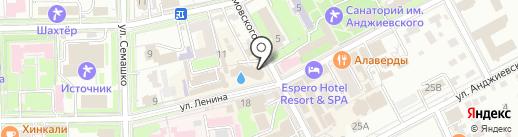 Сунивермаг на карте Ессентуков