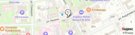 Венеция на карте Ессентуков