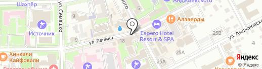 Светлана на карте Ессентуков