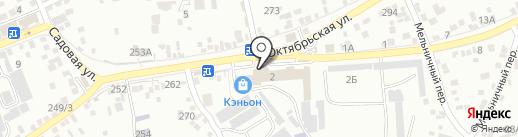 Автосервис на карте Ессентуков