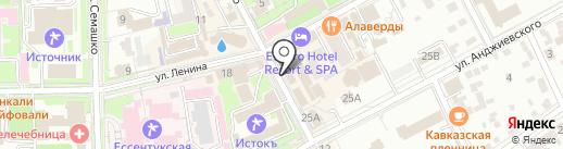 Этника на карте Ессентуков