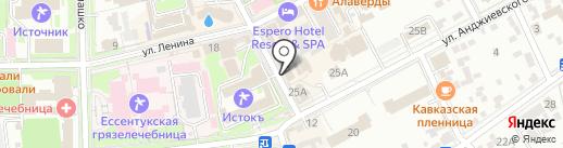 Оптика на карте Ессентуков