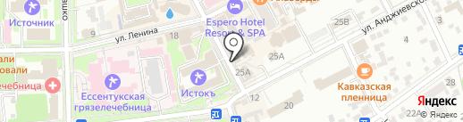 Россиянка на карте Ессентуков