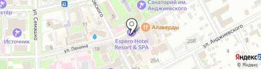 EsperO на карте Ессентуков