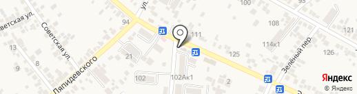 Продуктовый магазин на карте Ессентукской