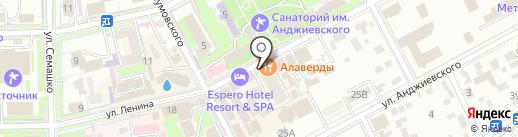 Симба на карте Ессентуков
