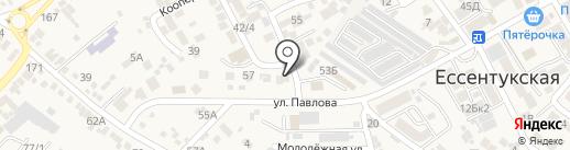 Центр занятости населения Предгорного района на карте Ессентукской