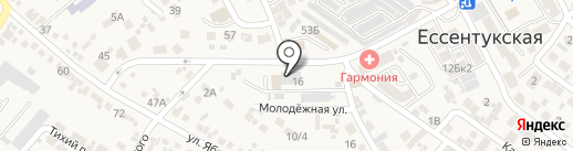 ЖКХ Предгорного района, МУП на карте Ессентукской