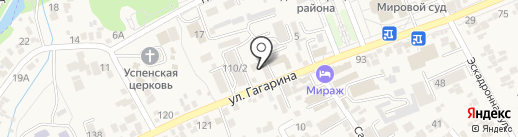 Эльбрус на карте Ессентукской