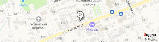 Искра на карте Ессентукской