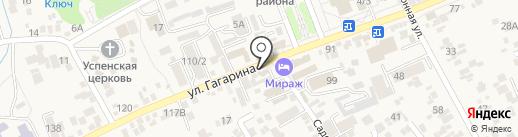 Ангелина на карте Ессентукской