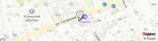 №1 КМВ на карте Ессентукской