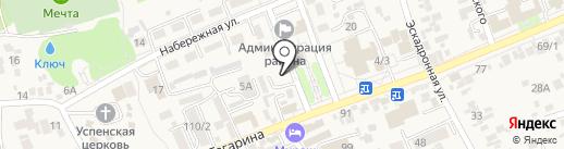 ЛЕКС на карте Ессентукской