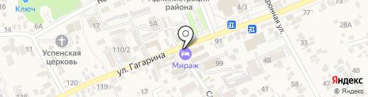 Адвокатский кабинет Гаджаровой Т.Р. на карте Ессентукской