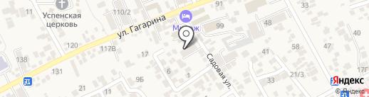 Адвокатская контора Предгорного района на карте Ессентукской